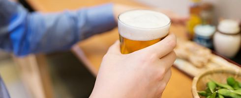 飲み放題にビールは含まれています